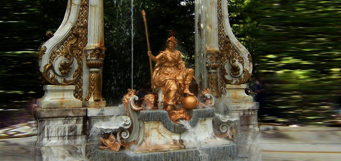 Fuentes y piernas. Minerva